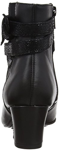 Puppies Imagery Boots Black Coco Leather Womens Hush Black 7qSxHpwp