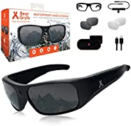 Bear Grylls Waterproof Action Camera Glasses (BG-GLS-1) with Full HD 1080P Built-in POV Camera IP66 Waterproof