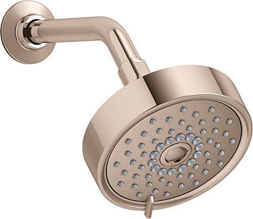 Kohler 22170-G-RGD Purist Showerhead, Vibrant Rose Gold