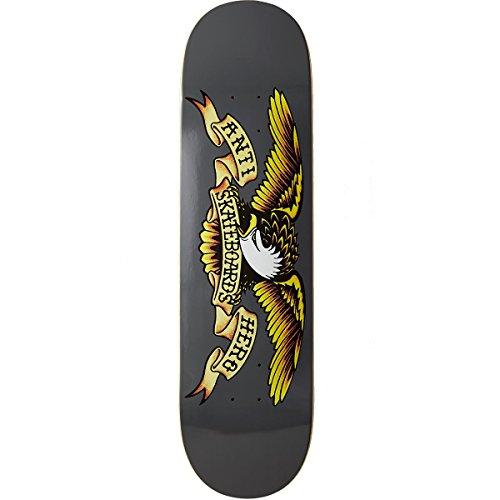 (Anti-Hero Classic Eagle Skateboard Deck - Grey - 8.25