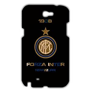 Inter Logo Phone Case for Samsung Galaxy Note 2 3D Black Slip On Cover