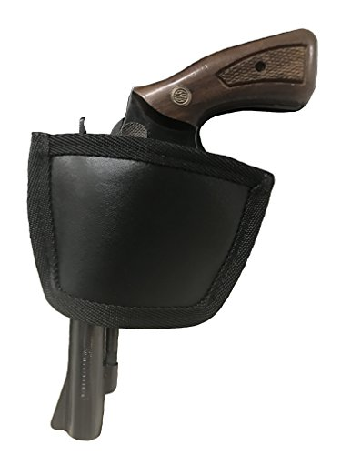 Concealment Inside Waistband or Outside Waistband Black Leather Gun Holster Fits Rossi 38 Special -