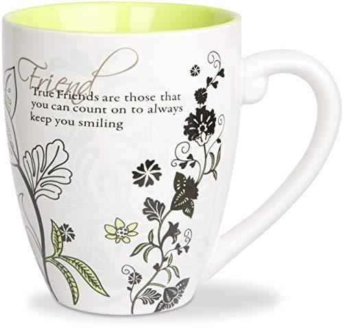 Mark My Words Friends Mug, 4-3/4 Inch, 20-Ounce Capacity