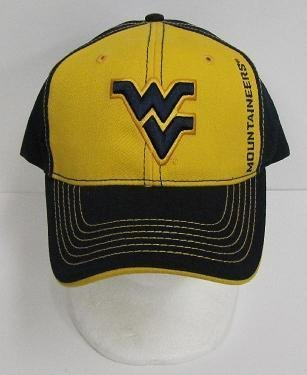 West Virginia Mountaineers Ball Cap-one Size Fits All