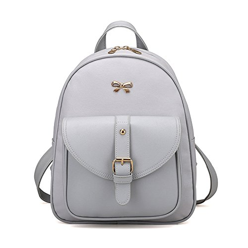 Bag Backpack Womens 4 Messenger School Sets Handbag Brezeh Shoulder Gray Travel Tote gray Bag C1g1q