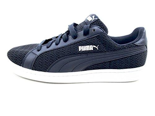 Puma Mens Smash Knit Fashion Sneakers Navy