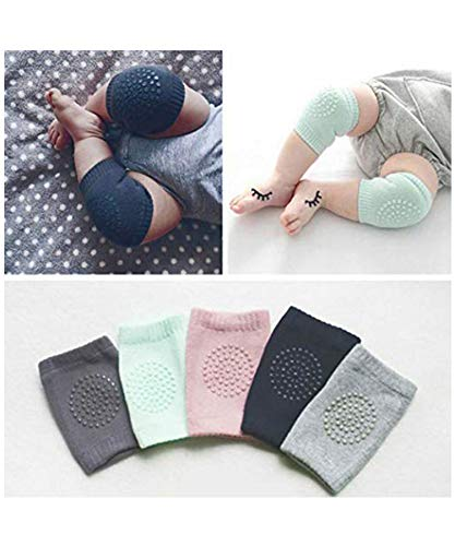 Yirind Baby Non-Slip Knee Pads,Kids Knee Guards Baby Crawling Sports Protective Gear Socks