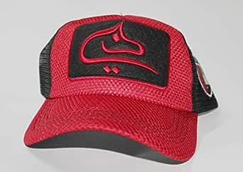 Dubai Calligraphy Cap Red Black