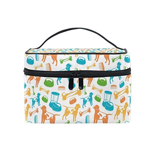(Dog Halloween Costume Christmas Gift Retro Cosmetic Bag Light And Easy To Carry Cosmetic Bag Lady Cosmetic Bag Cosmetic Bag Travel Storage)