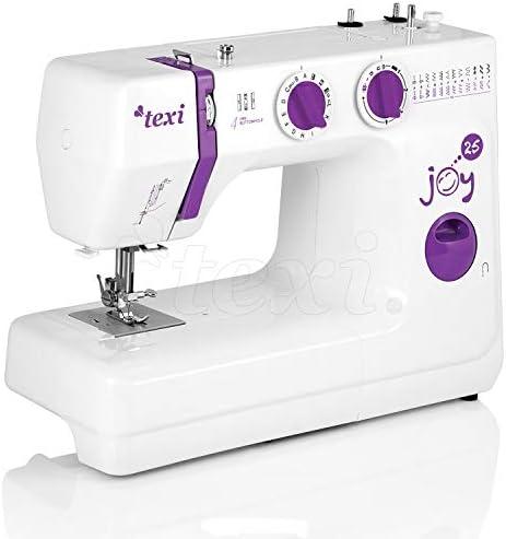 TEXI Joy 25 – mecánico teledirigido – Máquina de Coser – 25 – Patrón de Punto de presupuesto Máquina de Coser ...