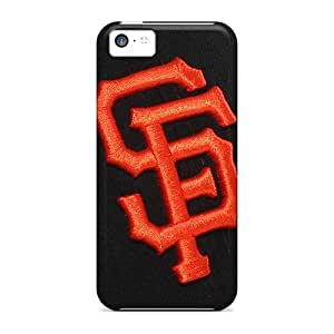 Luoxunmobile333 Apple Iphone 5c Shockproof Hard Phone Covers Provide Private Custom Stylish San Francisco Giants Baseball Pictures [VdT829jxui]