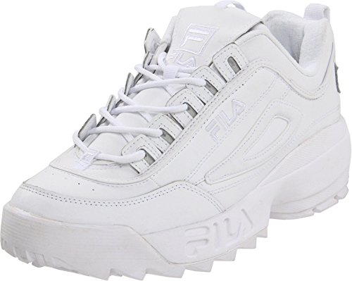 Fila Men's Strada Disruptor, White, 9 D - Medium
