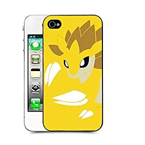 Case88 Designs Pokemon Sandslash Protective Snap-on Hard Back Case Cover for Apple iPhone 4 4s by icecream design
