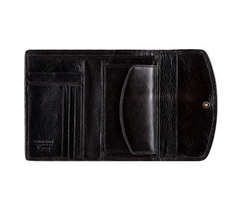 Negro 18 Verona Cuero 045 1 Horizontalmente Colección Grano Color 10 Orientación 5 Billetera Cm Tamaño Wittchen 25 De X 1 Material Eaq88C