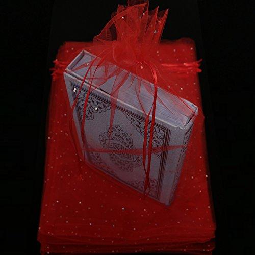 mytorten País Rojo tul bolsas 25 unidades, 27 x 42 cm ...