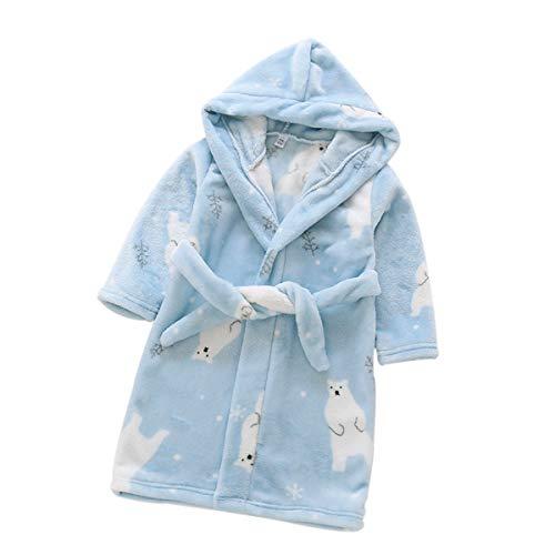 DEBAIJIA Baby Badjas 0-14 T Kind Housecoat Kid Kamerjas Peuter Nachtkleding Badstof Robe Pyjama Jongen Meisje Uniseks…