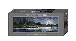 Heye 29508 - Panoramapuzzle, Alexander von Humboldt, Herd Elephant, 2000 teile