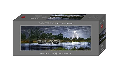 Heye Herd of Elephants 2000 Piece Panoramic Jigsaw Puzzle