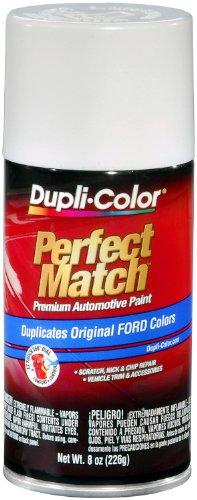 Dupli-Color EBFM03357 Performance White Ford Exact-Match Automotive Paint - 8 oz. Aerosol