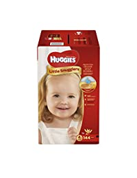 Huggies Little Snugglers Baby Diapers, Size 4, 144 Count (Packaging May Vary) (One Month Supply) BOBEBE Online Baby Store From New York to Miami and Los Angeles