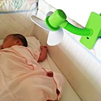 Bebé Clip-On Mini Cochecito Ventilador para cochecitos cunas