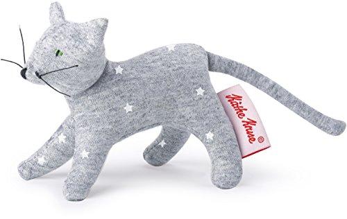 Käthe Kruse Kathe Kruse - Mini Plush Grabbing Toy Cat Stars Grey Plush/Stuffed Animal ()