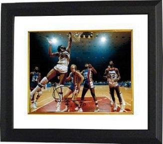 Signed Artis Gilmore Picture - 8x10 Custom Framed '72 MVP - Autographed NBA ()