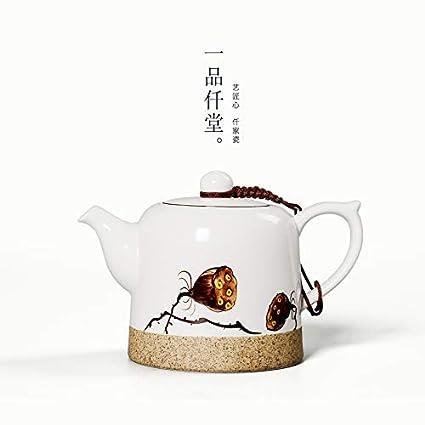 Amazon.com: G-C - Tetera de cerámica pintada a mano de ...