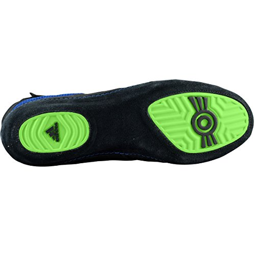 Adidas Wrestling Herren Combat Speed �? Wrestling Schuh Bahia Blau Lime Grün Schwarz
