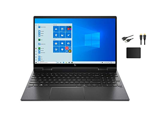"HP Envy X360 2-in-1 15.6"" FHD IPS Touchscreen Premium Laptop 