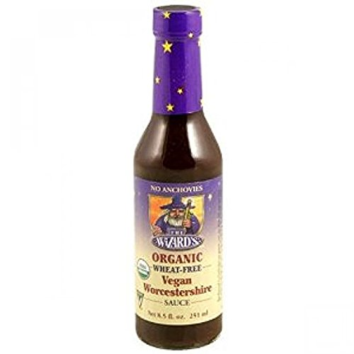 The Wizards Sauces, Sauce Worcestershire Vegetarian Organic, 8.5 Ounce