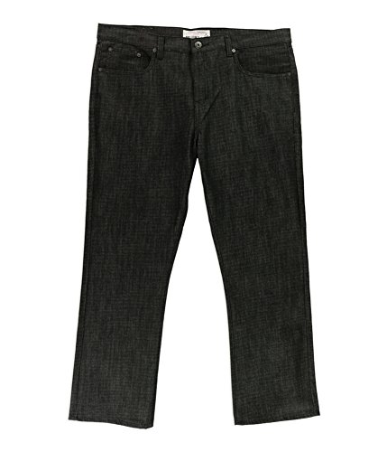 Ecko Mens Jeans - Ecko Unltd. Mens 714 Slim Straight Leg Jeans Black 34x32