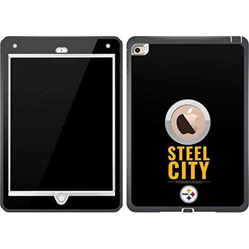 buy popular f829d d29e6 Amazon.com: Skinit NFL Pittsburgh Steelers OtterBox Defender iPad ...
