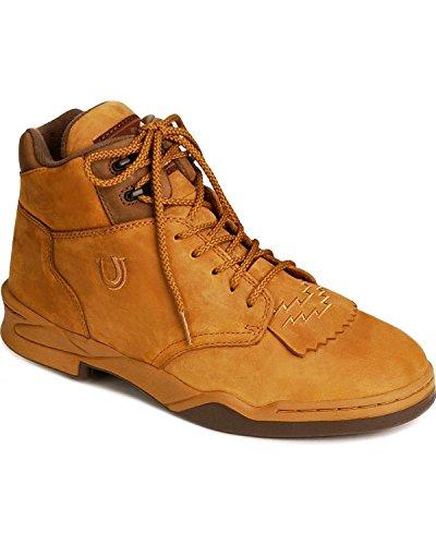 Roper Men's Kiltie Horse Western Boot,Amber,10.5 M (Medium Shank Spurs)