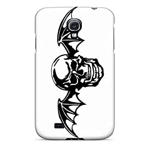 Shockproof Hard Cell-phone Case For Samsung Galaxy S4 (lDF2037ZCdw) Customized HD Avenged Sevenfold Band A7X Pattern