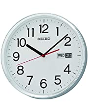 ساعة حائط مع تقويم من سيكو - Qxf104sls