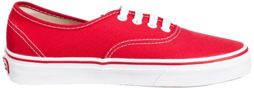 Red Vans Authentic Authentic Vans qO7wIT