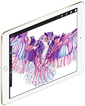 Apple iPad Pro 9.7in 256GB Gold WiFi + 4G Cellular ( )(Renewed)
