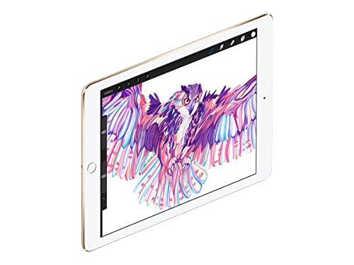 Apple iPad Pro 9.7in 256GB Gold WiFi + 4G Cellular ( )(Renewed) (Apple Ipad 4 Wifi 4g)