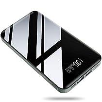 モバイルバッテリー 26800mAh 大容量 【PSE認証済】急速充電 2USB出力ポート LCD残量表示 iP...