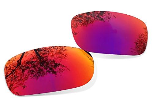 Red Lentes Polarizadas Ruby Sunglasses Recambio Oakley para Restorer de Pit Bull xHwppqYT