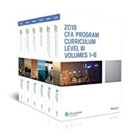 CFA Program Curriculum 2018 Level III Volumes 1-6 Box Set Front Cover