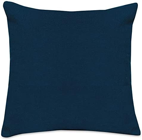 Majestic Home Goods Pillow, X-Large, Solid, Navy Blue