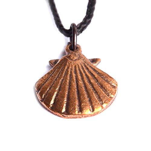 Pendant small Scallop bronze ()