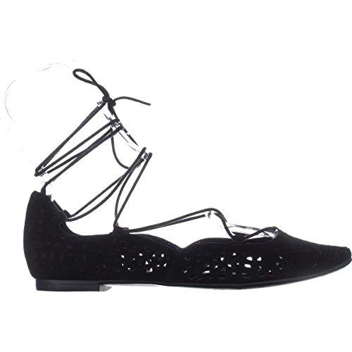 Flach Black Zavanna Frauen Ballerinas SU Leder West Nine XfPUq8wy ...