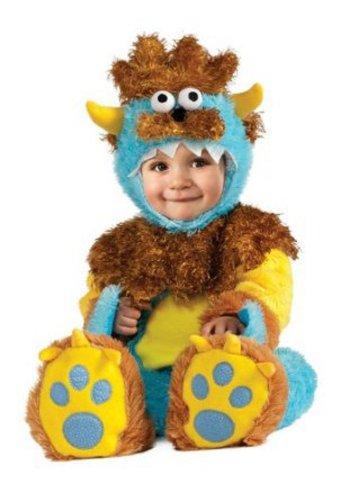 Rubie's Costume Noah's Ark Teeny Meanie Monster Romper Costume, Brown, 6-12 Months