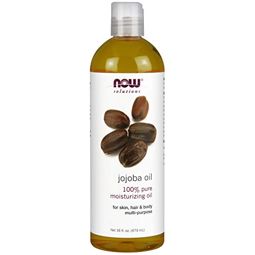 - Now Solutions, Jojoba Oil, 100% Pure Moisturizing, Multi-Purpose Oil for Face, Hair and Body, 16-Ounce