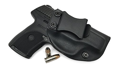 Concealment Express IWB KYDEX Holster: fits Ruger LC9 LC9s LC380 EC9s - Custom Fit - US Made - Inside Waistband - Adj. Cant/Retention (BLK, Right)