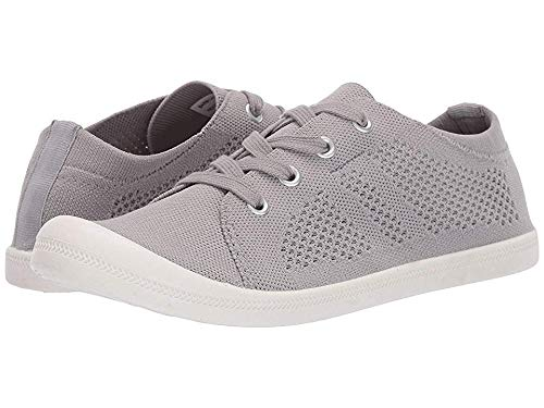 (Madden Girl Women's Barby-K Light Grey 8.5 M US)