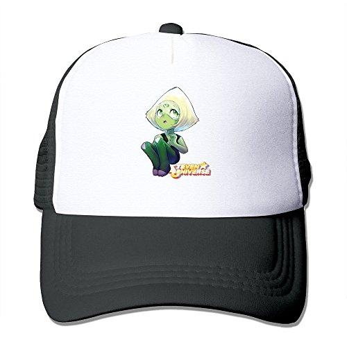 Cool Steven Universe Peridot Trucker Mesh Baseball Cap Hat Black